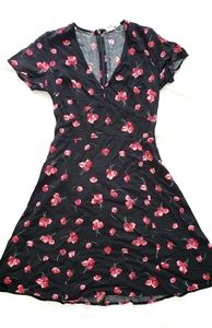 Gap Summer Floral Mini Dress in size 0